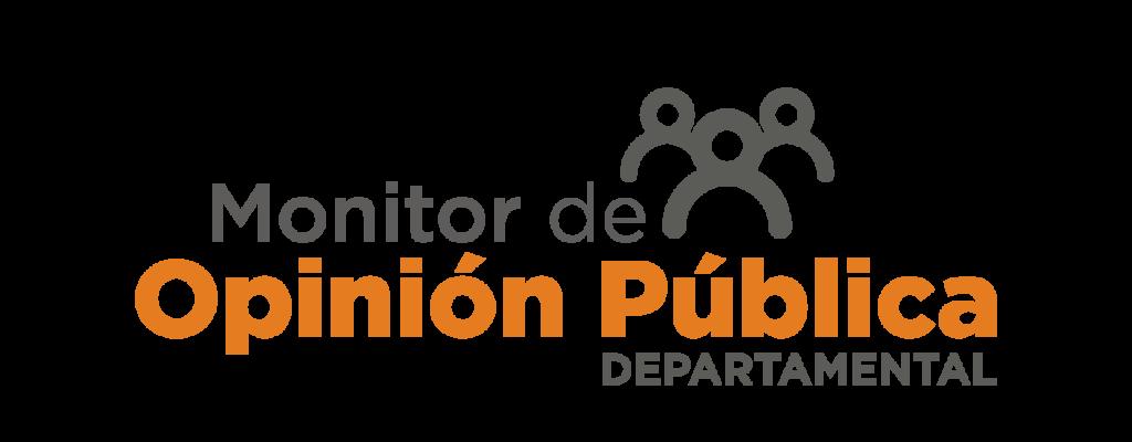 Encabezado Monitor de Opinión Pública Departamental